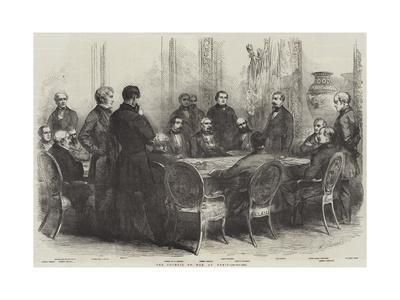 The Council of War, at Paris