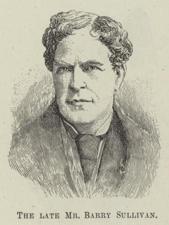 The Late Mr Barry Sullivan