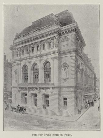 The New Opera Comique, Paris