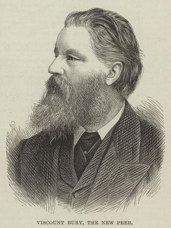 Viscount Bury, the New Peer