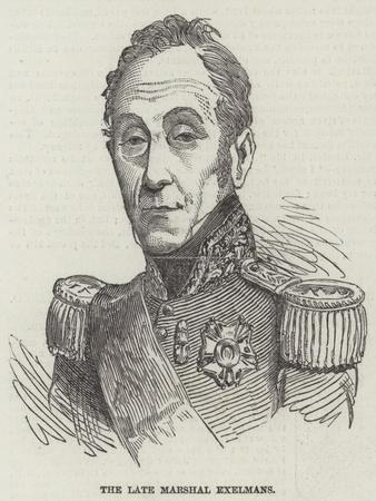 The Late Marshal Exelmans