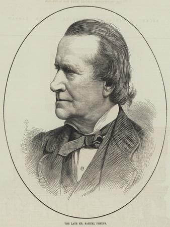 The Late Mr Samuel Phelps
