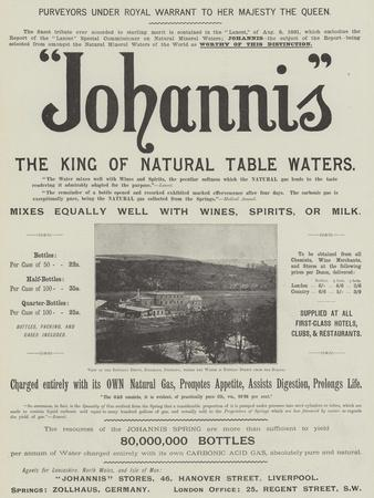 Advertisement, Johannis