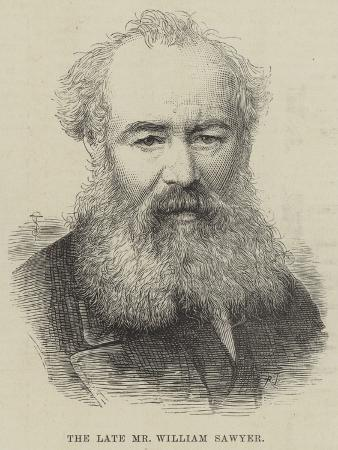 The Late Mr William Sawyer