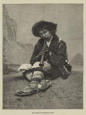 The Young Flageolet-Player