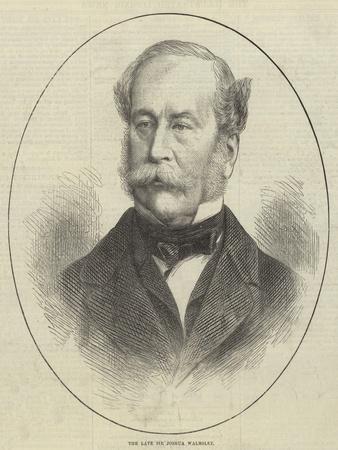 The Late Sir Joshua Walmsley