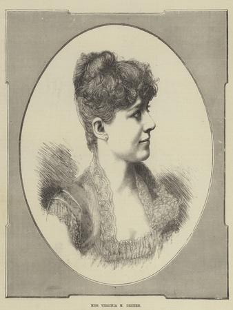 Miss Virginia M Dreher