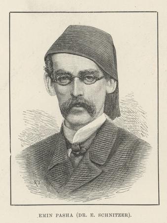 Emin Pasha (Dr E Schnitzer)