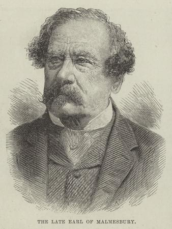 The Late Earl of Malmesbury
