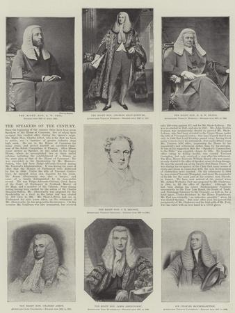 The Speakers of the Century
