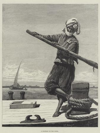 A Boatman on the Indus