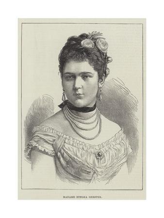 Madame Etelka Gerster