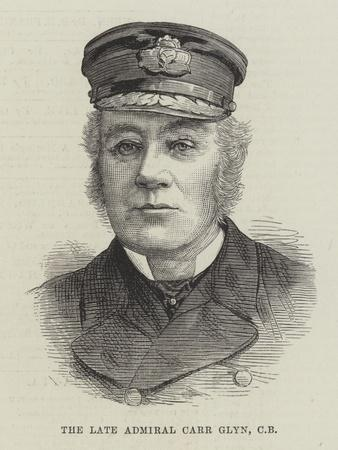 The Late Admiral Carr Glyn