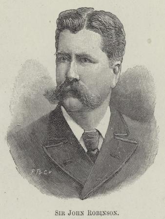 Sir John Robinson