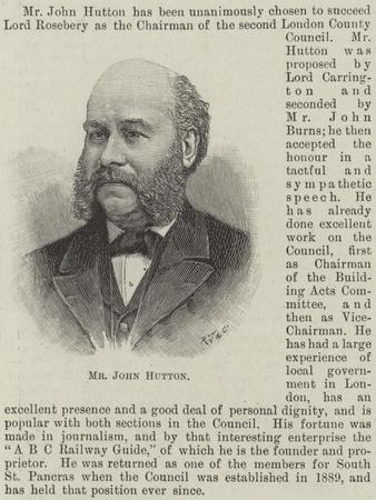 Mr John Hutton