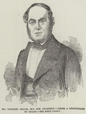 Mr Charles Geach