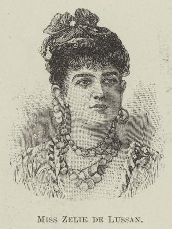 Miss Zelie De Lussan