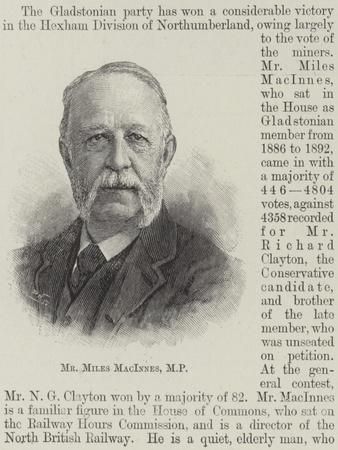 Mr Miles Macinnes