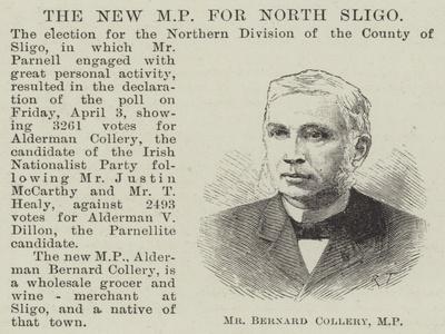 Mr Bernard Collery