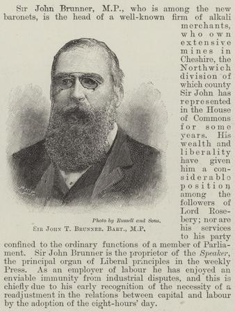 Sir John T Brunner
