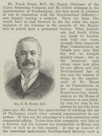 Mr F H Evans