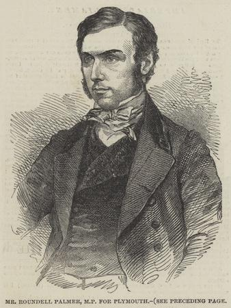 Mr Roundell Palmer