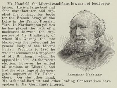 Alderman Manfield