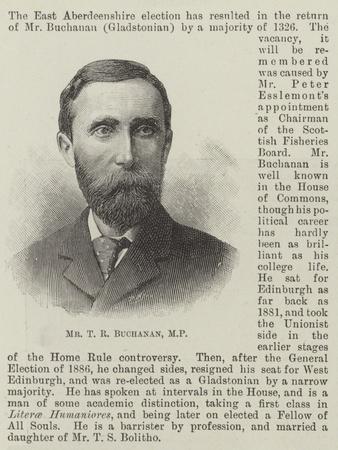 Mr T R Buchanan