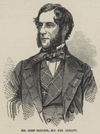 Mr John Sadleir
