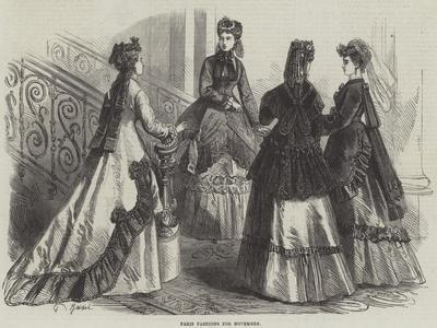 Paris Fashions for November
