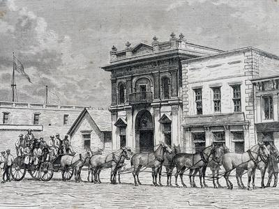 Wells Fargo and Company Stagecoach, United States, 19th Century