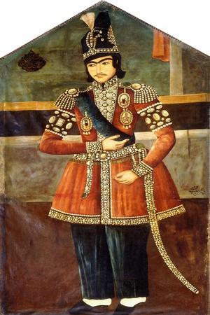 Portrait of Nasr-Al-Din Shah, C.1850