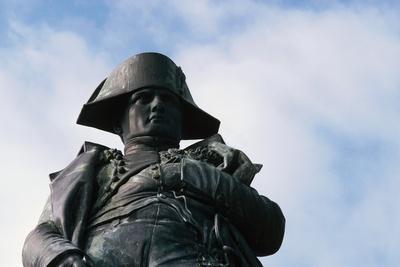 Statue of Napoleon Bonaparte (1769-1821), Ajaccio, Corsica, France