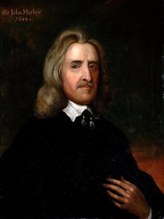 Portrait of Sir John Marlay, 1644