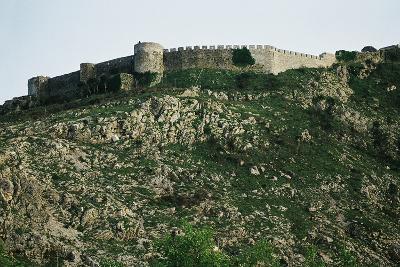 Rozafa Castle in Shkoder, Albania