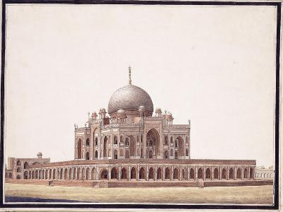 The Tomb of Humayun, C.1820