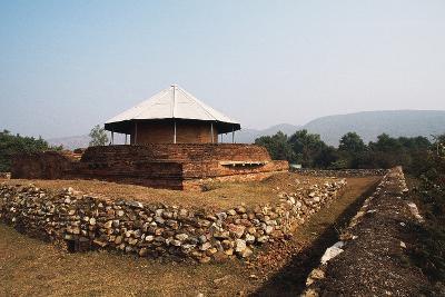 Maniar Math Temple, Rajgir, Bihar, India