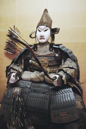 Doll Depicting Samurai, Kurashiki, Japan