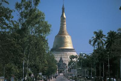 Facade of a Pagoda, Bago, Myanmar
