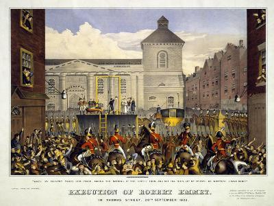 Execution of Robert Emmet in Thomas Street, 20th September 1803, 1803