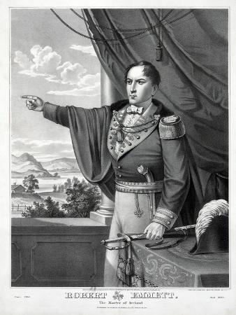 Robert Emmett, the Martyr of Ireland, Pub. C.1873
