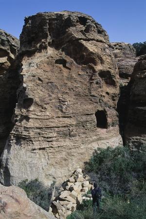Iron Age Edom Dwellings, Dana Nature Reserve, Jordan