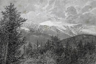 Appalachian Mountains, Usa, 19th Century