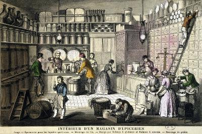 Spice Shop, France, 19th Century