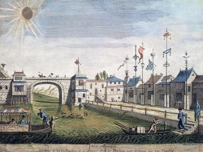 Cochin-China Port, Vietnam, Vietnam, 18th Century
