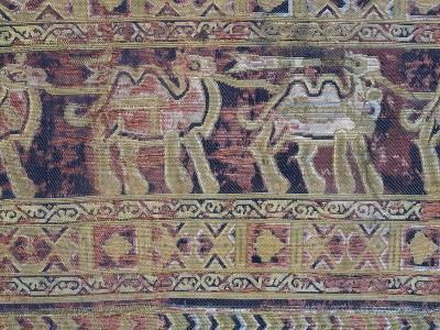 Camels from Silk Fabric Made in Iran in First Half of 10th Century