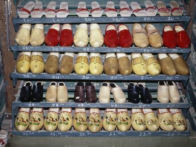 Clog Display at Dutch Factory, Broek in Waterland, Netherlands
