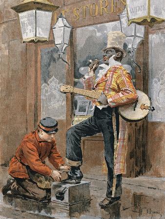 Shoeshine, Print, United Kingdom, 19th Century