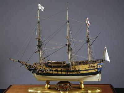 Model of Aurora Ship, Which Was Launched in 1784, Italy, 18th Century
