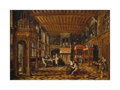 Flemish Interior, Paul Vredeman De Vries (1567-After 1630)